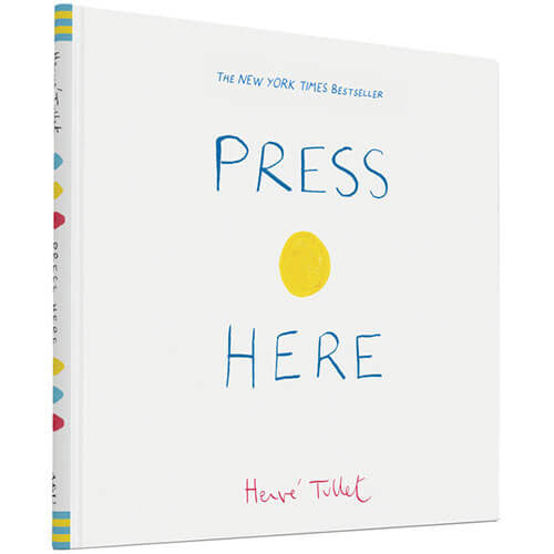 Press Here by Hervé Tullet - Junior Edition  - 1