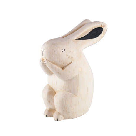 Rabbit - Polepole Wooden Animal by T-Lab - Junior Edition  - 1