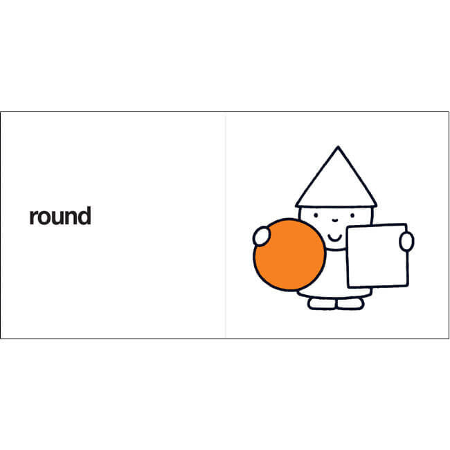 Round, Square, Triangle by Dick Bruna - Junior Edition  - 4