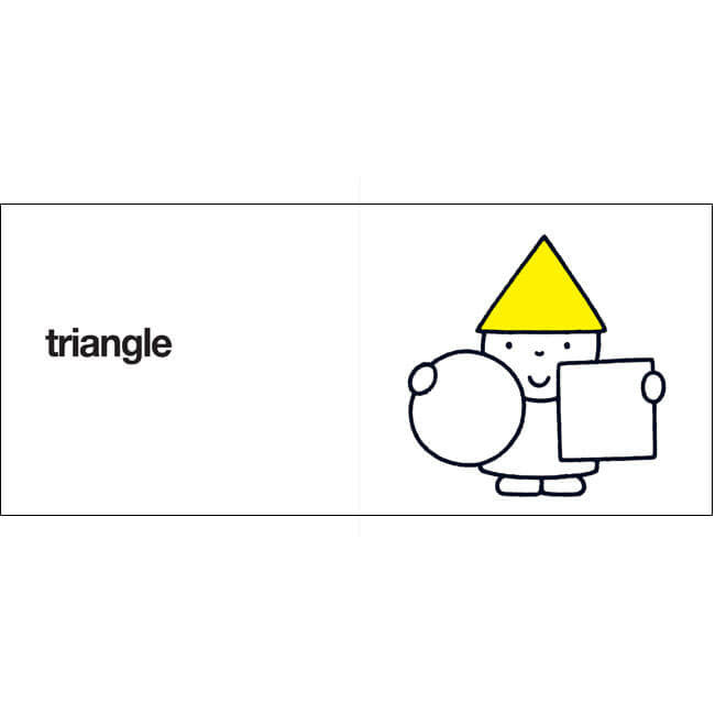 Round, Square, Triangle by Dick Bruna - Junior Edition  - 3