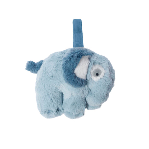 Elephant Plush Musical Pull Toy in Cloud Blue by Sebra - Junior Edition