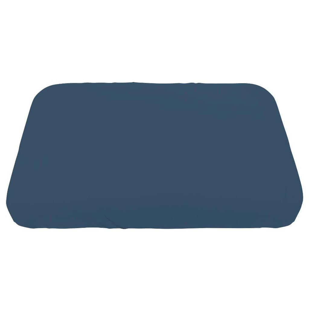 Jersey Fitted Crib Sheet in Royal Blue by Sebra - Junior Edition