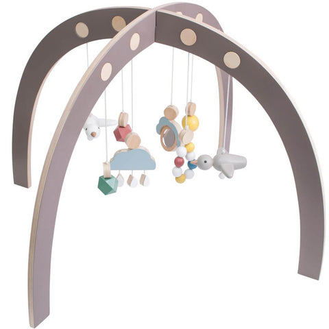Baby Gym in Warm Grey by Sebra