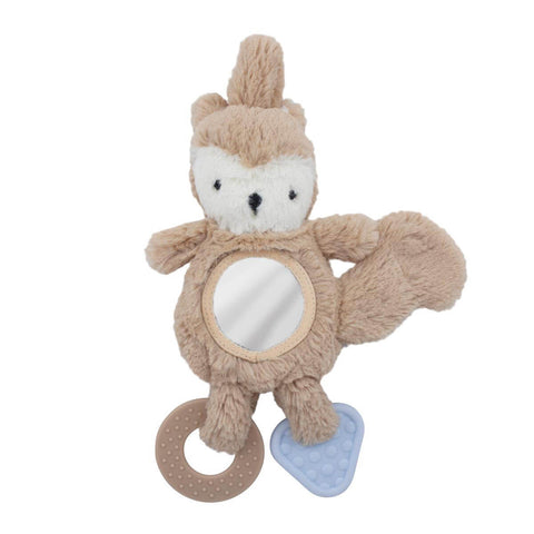 Zappy The Squirrel Plush Car Seat Activity Toy by Sebra