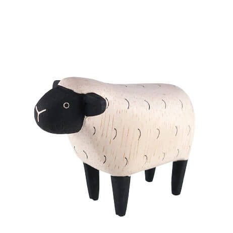 Sheep - Polepole Wooden Animal by T-Lab - Junior Edition