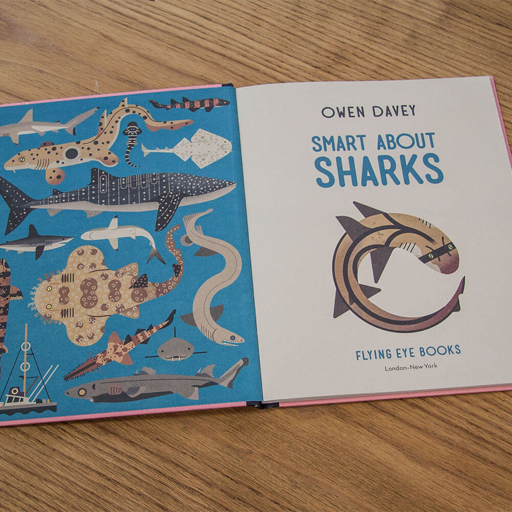 Smart About Sharks by Owen Davey - Junior Edition  - 5