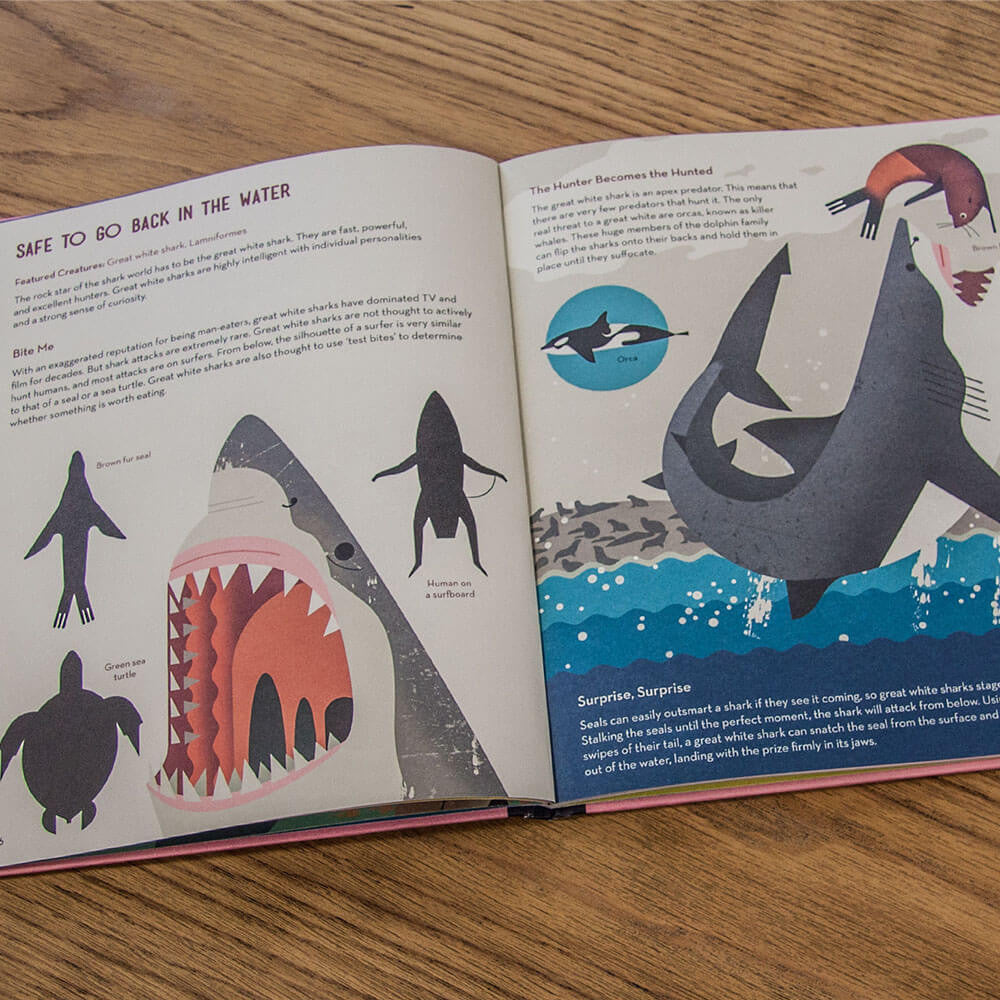 Smart About Sharks by Owen Davey - Junior Edition  - 3
