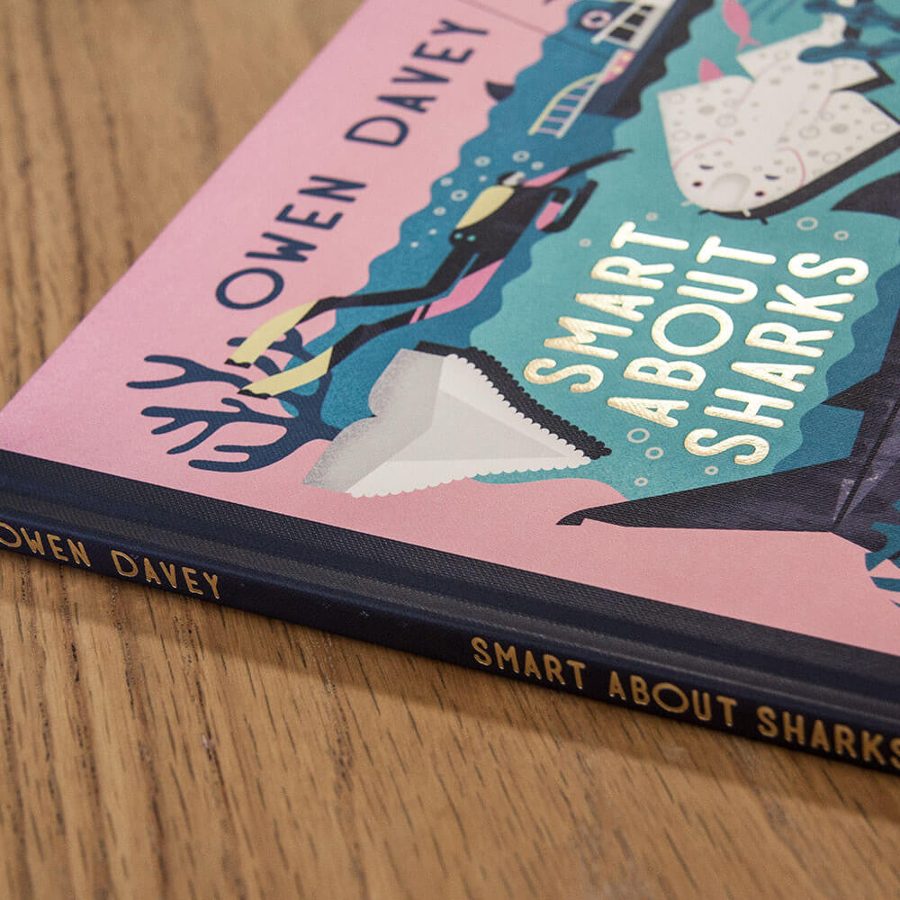 Smart About Sharks by Owen Davey - Junior Edition  - 6