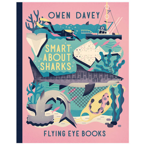 Smart About Sharks by Owen Davey - Junior Edition  - 7