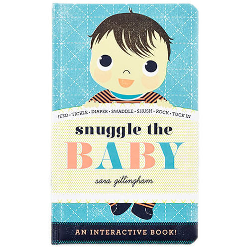 Snuggle The Baby by Sara Gillingham - Junior Edition  - 1