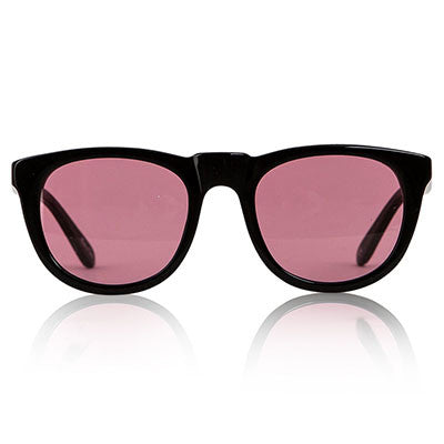 Black Bobby Sunglasses by Sons + Daughters Eyewear - Junior Edition  - 1