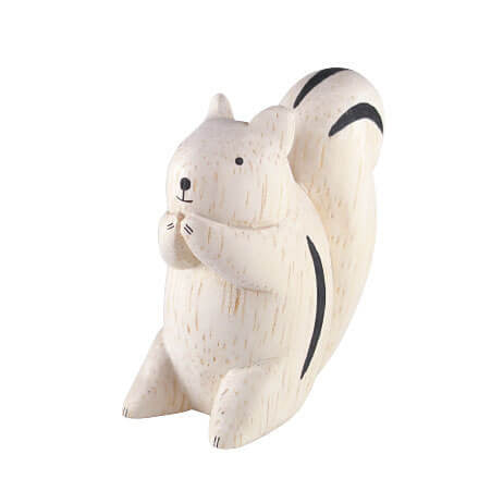 Squirrel - Polepole Wooden Animal by T-Lab - Junior Edition