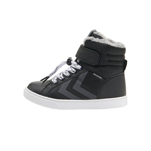 Splash Poly Waterproof High Junior in Black by Hummel