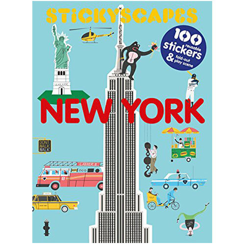 Stickyscapes New York by Tom Froese - Junior Edition