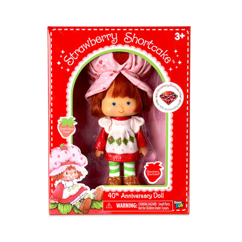 Strawberry Shortcake 40th Anniversary Doll (16cm) by Basic Fun