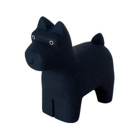 Miniature Schnauzer - Polepole Wooden Animal by T-Lab - Junior Edition