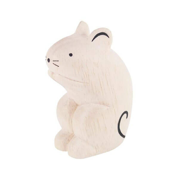 Mouse - Polepole Wooden Animal by T-Lab - Junior Edition