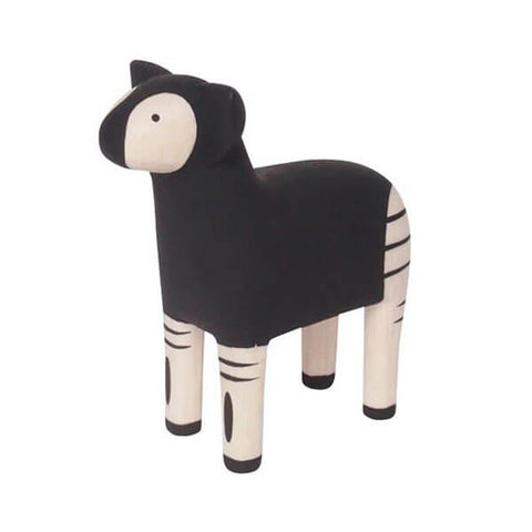Okapi - Polepole Wooden Animal by T-Lab - Junior Edition