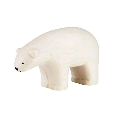 Polar Bear - Polepole Wooden Animal by T-Lab - Junior Edition