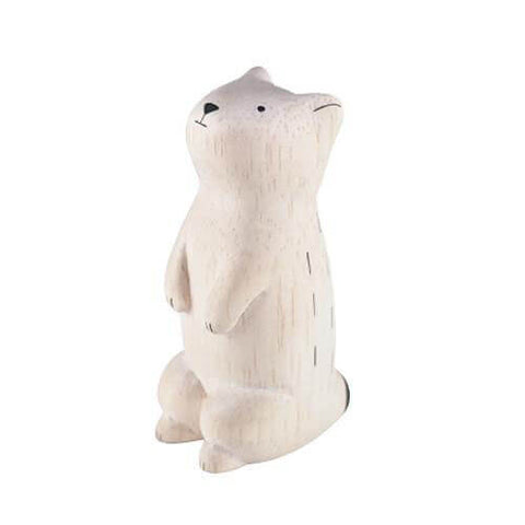 Prairie Dog - Polepole Wooden Animal by T-Lab - Junior Edition