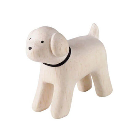 Toy Poodle - Polepole Wooden Animal by T-Lab - Junior Edition
