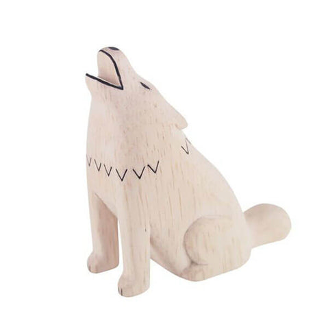 Wolf - Polepole Wooden Animal by T-Lab - Junior Edition