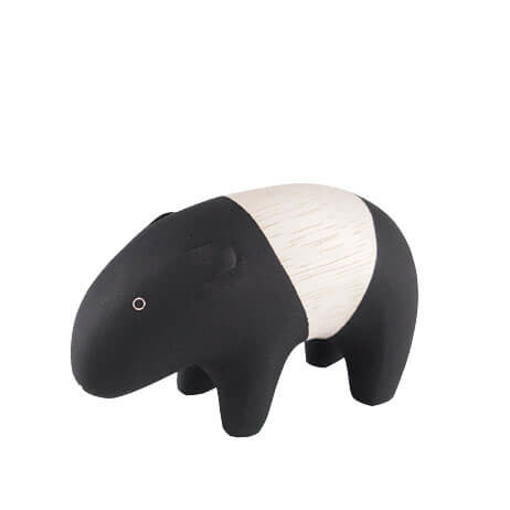 Tapir - Polepole Wooden Animal by T-Lab - Junior Edition  - 1