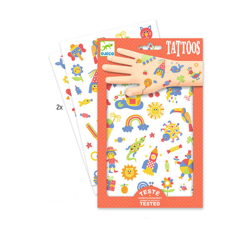 So Cute Tattoos by Djeco