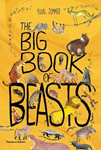 The Big Book of Beasts by Yuval Zommer & Barbara Taylor - Junior Edition