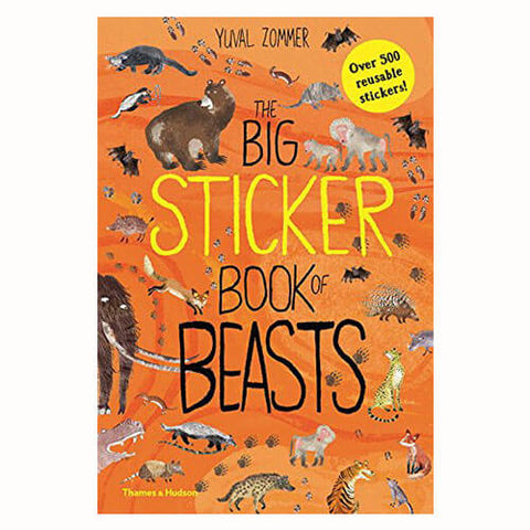 The Big Sticker Book of Beasts by Yuval Zommer - Junior Edition