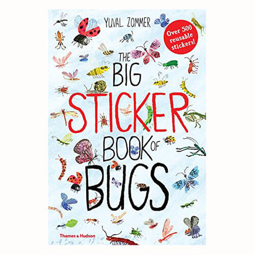 The Big Sticker Book of Bugs by Yuval Zommer - Junior Edition