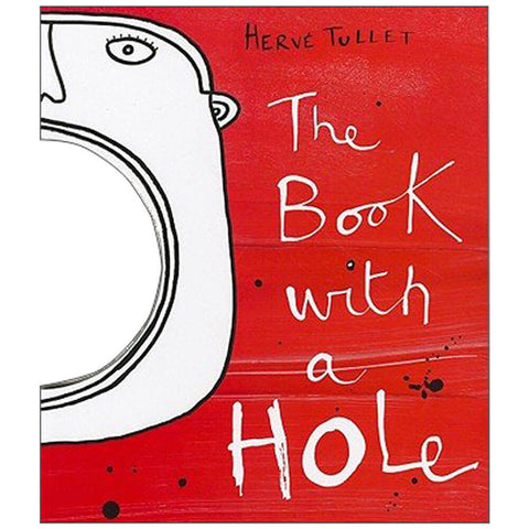 The Book With A Hole by Hervé Tullet - Junior Edition  - 1