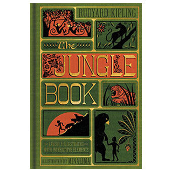 The Jungle Book (Collector's Edition) by Rudyard Kipling & MinaLima