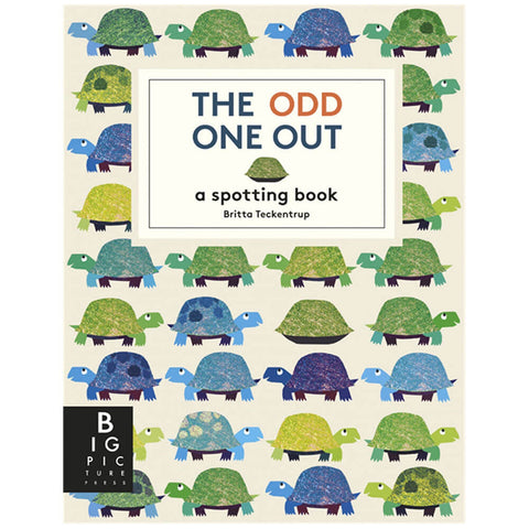 The Odd One Out by Britta Teckentrup - Junior Edition  - 1