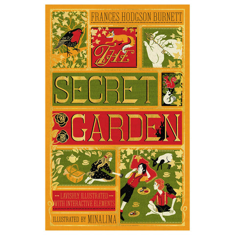 The Secret Garden (Collector's Edition) by Frances Hodgson Burnett & MinaLima