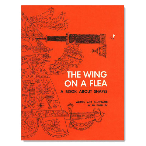 The Wing On a Flea by Ed Emberley - Junior Edition  - 1
