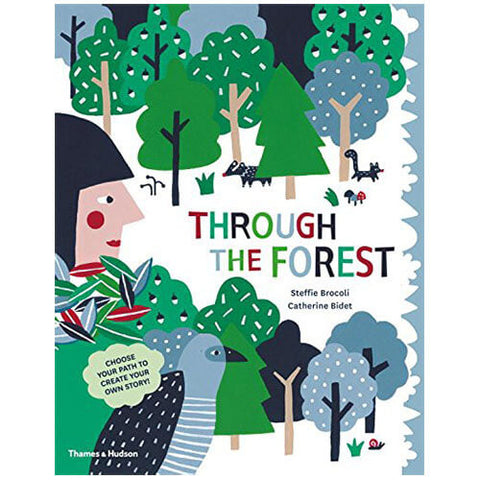 Through the Forest by Steffie Brocoli & Catherine Bidet - Junior Edition  - 1
