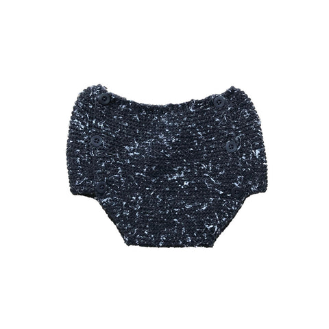 Links Knitted Bloomers in Black by Tocoto Vintage - Junior Edition