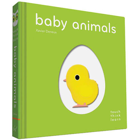 TouchThinkLearn: Baby Animals By Xavier Deneux - Junior Edition  - 1