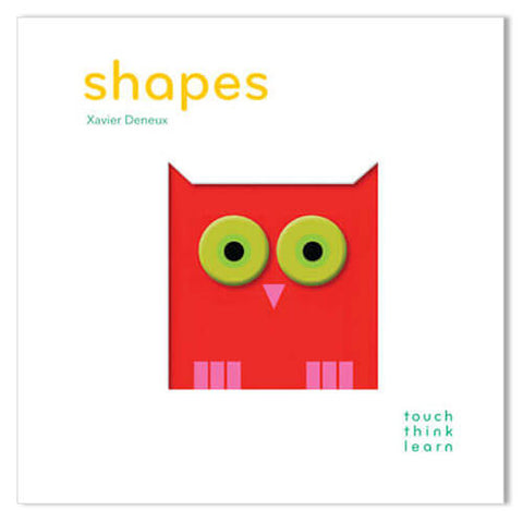 TouchThinkLearn: Shapes By Xavier Deneux - Junior Edition  - 1