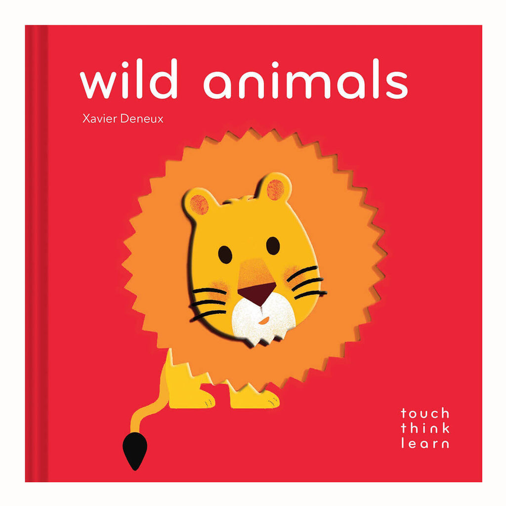 TouchThinkLearn: Wild Animals By Xavier Deneux - Junior Edition