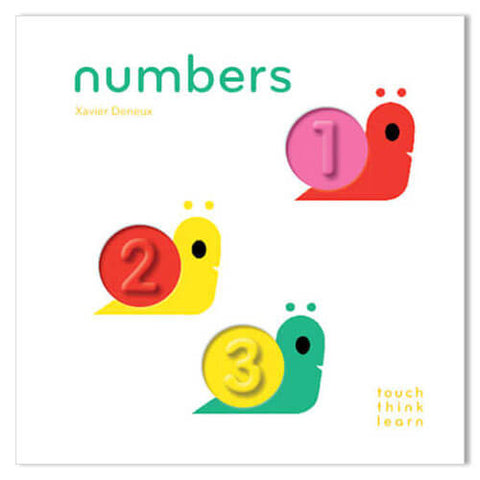 TouchThinkLearn: Numbers By Xavier Deneux - Junior Edition  - 1