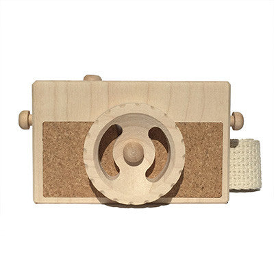 Instamatic Wooden Toy Camera by Twig Creative - Junior Edition