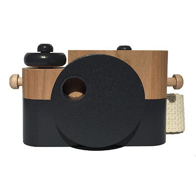 Charcoal Wooden Toy Camera by Twig Creative - Junior Edition