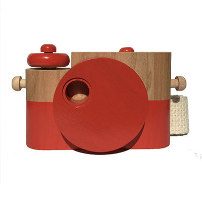 Poppy Pixie Wooden Toy Camera by Twig Creative - Junior Edition  - 1