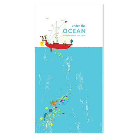 Under The Ocean (Pop-up) by Anouck Boisrobert & Louis Rigaud - Junior Edition