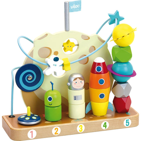 In The Stars Galaxy Counting And Stacking Toy by Vilac
