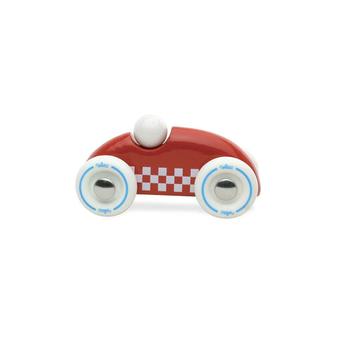 Mini Wooden Rally Car in Red by Vilac - Junior Edition
