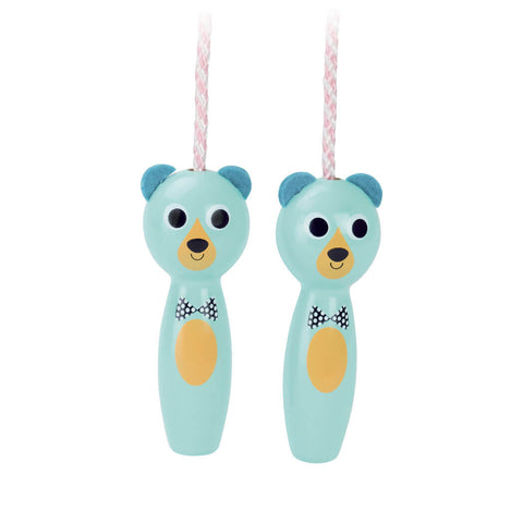Ingela P. Arrhenius Bear Skipping Rope by Vilac - Junior Edition