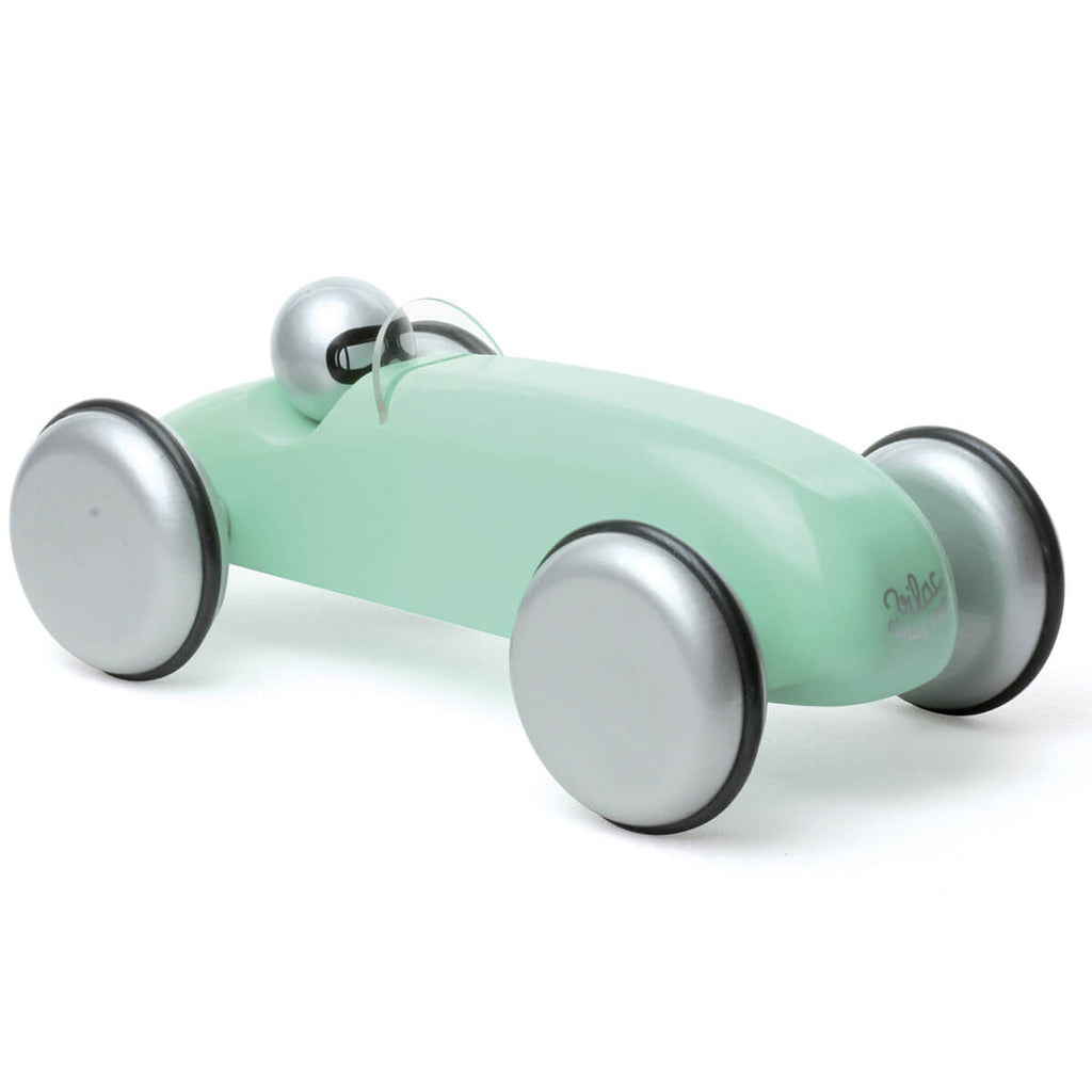 Large Wooden Speedster Car in Mint by Vilac - Junior Edition